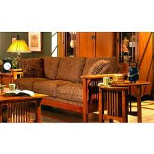 sofa craftsman style red sofa living room. exellent craftsman mission craftsman oak microfiber sofa view images in sofa style red living room n