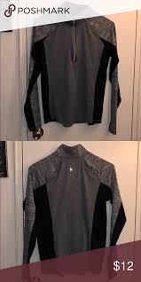 Freestyle By Danskin Size Chart Like New Danskin 1 2 Zip Athletic Top Dark Grey And Black