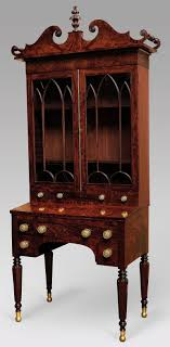 met phyfe writing table and bookcase 1820