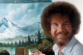 bob ross first joy of painting show is now on you