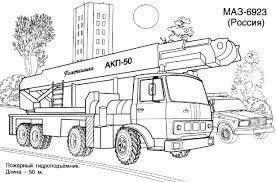 Coloriage Camion Grue Imprimerllll L