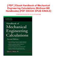 Engineering Design Handbook Pdf Pdf Ebook Handbook Of Mechanical Engineering Calculations