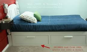 ikea brimnes bed. Bedroom: Launching Ikea Brimnes Bed Review An Airplane Bedroom Stacy Risenmay From