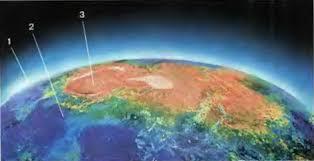 Оболочки Земли атмосфера гидросфера и литосфера География  Оболочки планеты Земля 1 атмосфера 2 гидросфера 3 литосфера