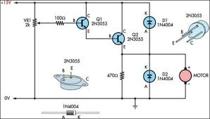 basic motor speed controller circuit elektronika basic motor speed controller circuit