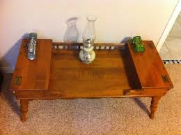 1970s ethan allen coffee table