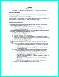 Resume Cashier Job Description Resume For Retail Cashier Job Krida 15