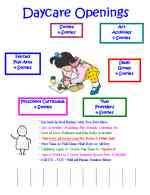 Samples Of Daycare Flyers 150 Daycare Forms Childcare Forms Preschool Forms