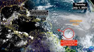 Tropical Storm Elsa speeding toward the ...