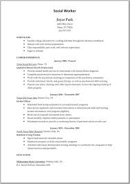 Free Sample Resume For Child Care Worker | Free Curriculum Vitae ...