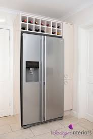 Interior In Kitchen An Example Of A Housing For An American Fridge Freezer With Pull