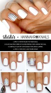 25+ beautiful White nail art ideas on Pinterest | Prom nails, Gold ...