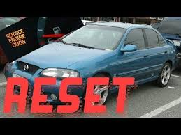 How to reset Service Engine soon Light on a 2003 Nissan Sentra ...