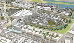 the city of oakland has relased the detailed plans for a proposed 800 acre