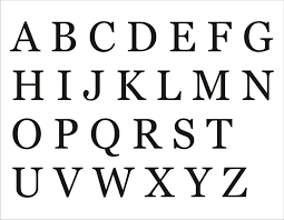 Alphabet Capital Letters Printable Upper And Lowercase Cursive In ...