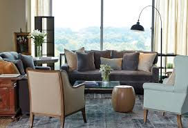 corner furniture for living room. Use Two Sofas Perpendicular To Each Other, Then Mismatched Chairs In The Fourth Corner Furniture For Living Room N