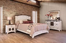 Pueblo White Queen Bedroom Set | The Furniture Mart