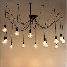 light bulbs for chandelier modern retro bulb vintage loft antique adjule art spider pendant light bulbs for chandelier