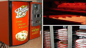 Pizza Vending Machine Locations Usa Stunning Wonder Pizza Vending Machine OhGizmo