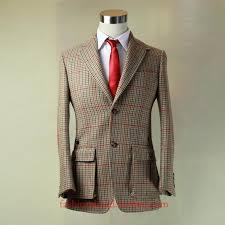 whole beige color harris tweed with big window plain wool man s winter hunter jacket tailor made mtm outside uk suit tweed dress jacket white jacket