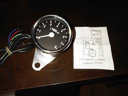 aftermarket mini tach installation triumph forum triumph rat how to install a tachometer on a car without one at Wiring Diagram Tachometer