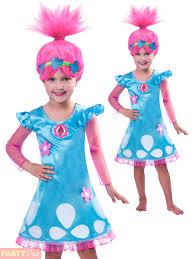 girls poppy trolls costume childs tv book