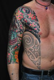 Tatuaggi Braccio Uomo Colorati