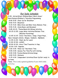 child care schedule template info daily schedule daycare template calendar calendar
