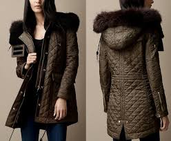 just like the previous burberry jacket quilted fur trim parka was also designed to keep you warm for the winter the coat s quite expensive however
