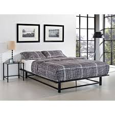 Parsons Full Metal Ledge Platform Bed Black Walmart