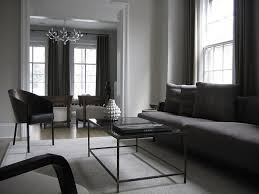 Black White And Grey Living Room Idea Black And White No Gray