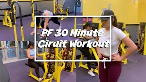 Trying Out Planet Fitnesss 30 Minute Circuit Workout