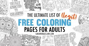Search through 623,989 free printable colorings at getcolorings. The Ultimate List Of Legit Free Coloring Pages For Adults Hundreds Of Free Printables From 60 Sources