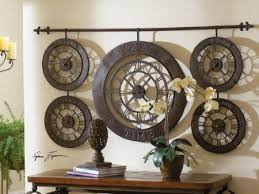 circular amazon large kitchen wall art world time zones clock hand forged metal home and kitchen on wall art for kitchens metal with wall art best images large kitchen wall art canvas art for kitchen