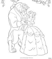 Small Picture beauty and the beast coloring pages Free Coloring Pages