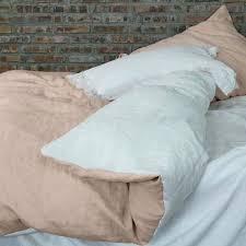 white duvet bedding two tones linen bedding pale salmon optic white duvet cover white black gray