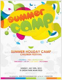 Summer Camp Pamplets Summer School Flyer Design Yourweek 4d6682eca25e