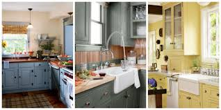 Kitchen Painted Gray Kitchen Cabinets With White Subway Tile