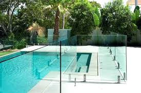 above ground glass pool above ground swimming pool fence ideas image of glass ideal my journey above ground glass pool