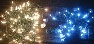 Long Lasting Led Christmas Lights Led Vs Incandescent Mr Christmas Lights