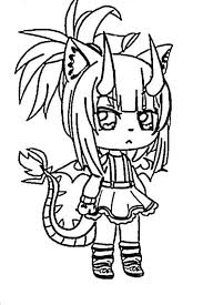 A downloadable game for windows. Gacha Life Coloring Pages Coloring Pages For Kids And Adults