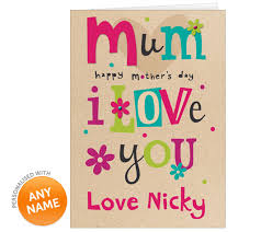 Mothers Greeting Card Mothers Day Photo Greeting Card Giftsmate