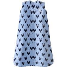 Halo Fleece Sleepsack Size Chart Halo Sleepsack Wearable Blanket Microfleece Oh Deer Blue
