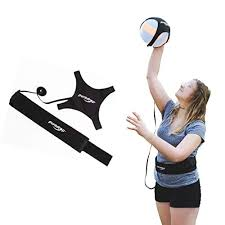puredrop volleyball equipment aid great trainer for solo practice of serving tosses and arm