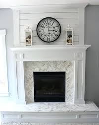 herringbone fireplace herringbone