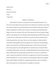 medical marijuana policy paper hsc medical marijuana policy 9 pages essay 2 marijuana