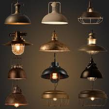 ceiling industrial lighting fixtures industrial lighting. vintage industrial lighting copper lamp holder metal pendant light american aisle lights edison bulb 110v260v ceiling fixtures
