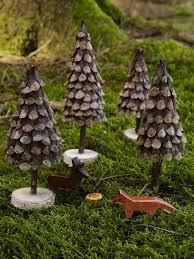 Winterliche Naturfundstücke Basteln Mit Zapfen