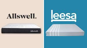 Tempurpedic Pillow Selector Chart Allswell Vs Leesa Mattress Review Comparison Guide