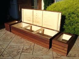 wood patio bench image of outdoor patio storage bench waterproof wood patio bench ideas